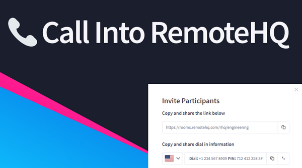 Call into RemoteHQ Sessions!